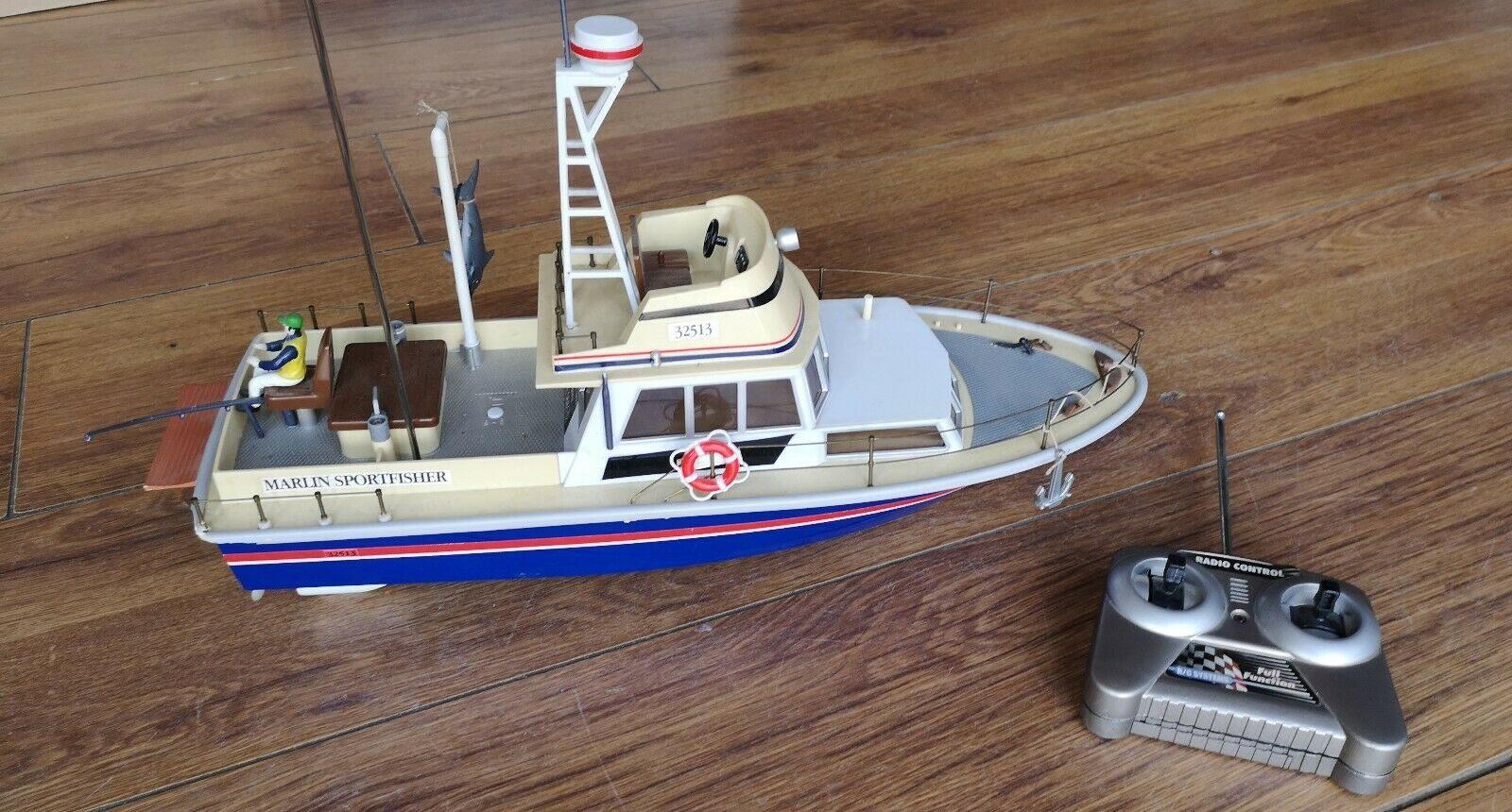 Comment utiliser un bateau radiocommandé