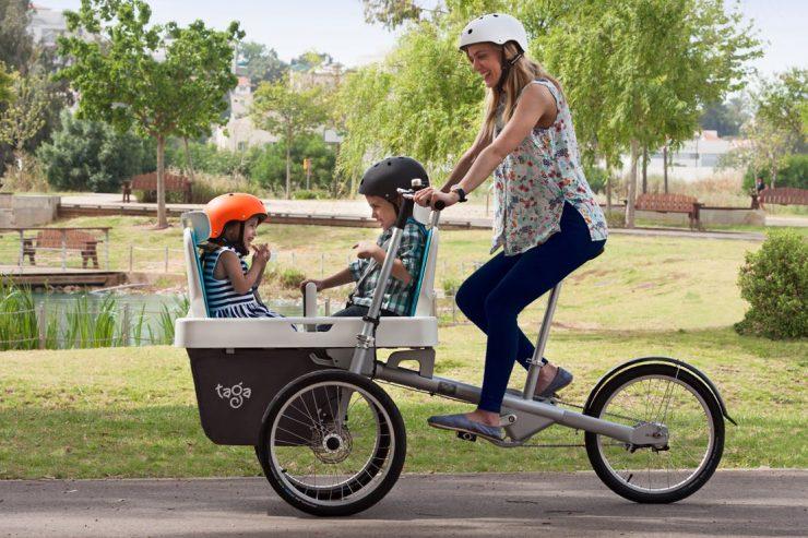 porte-vélo bébé pour son enfant